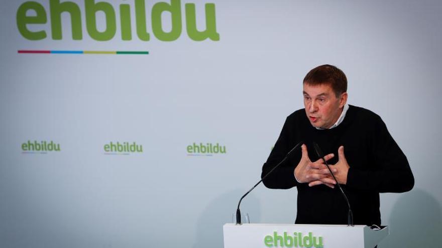 La inhabilitación de Otegi no condicionará su candidatura por EH Bildu