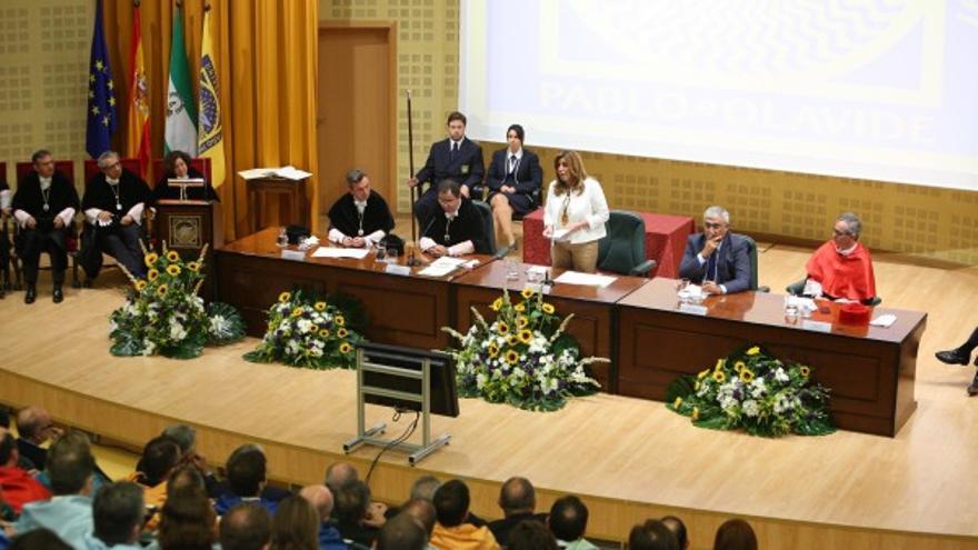 Inauguración del curso universitario 2015-2016 en la UPO.