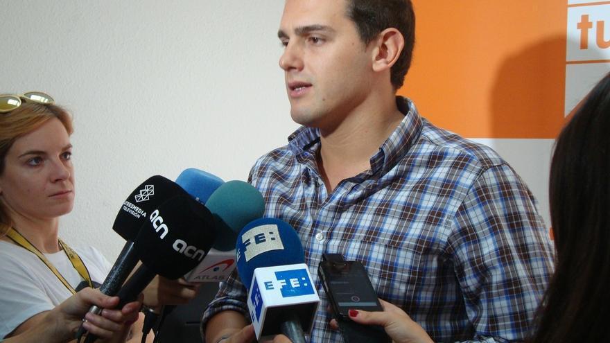 """Rivera (C's) pide a Mas que """"cumpla las leyes, las sentencias y que gobierne"""""""