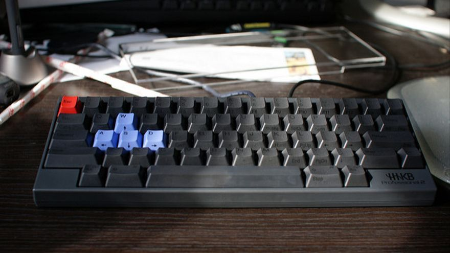 Un teclado de un ordenador. Foto: uıɐɾ ʞ ʇɐɯɐs / Flickr