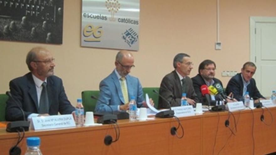 Representantes De Eyc, CECE, FSIE Y USO