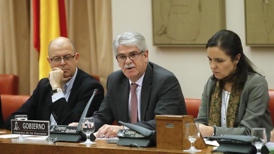 Dastis mantiene la posición sobre Gibraltar y se remite al acuerdo España-R.Unido