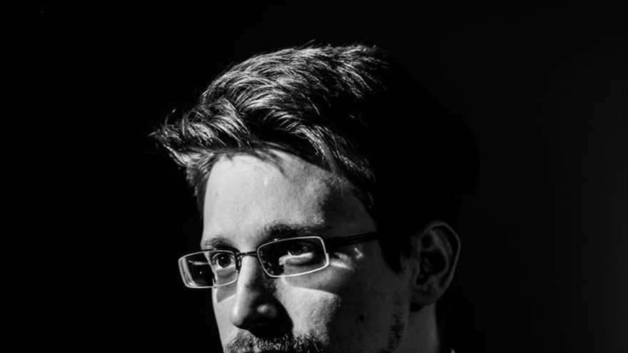 Edward Snowden, por Lindsay Mills