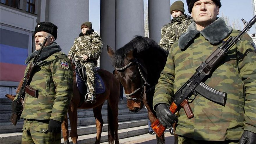 Mueren cinco soldados ucranianos en combates con milicianos prorrusos