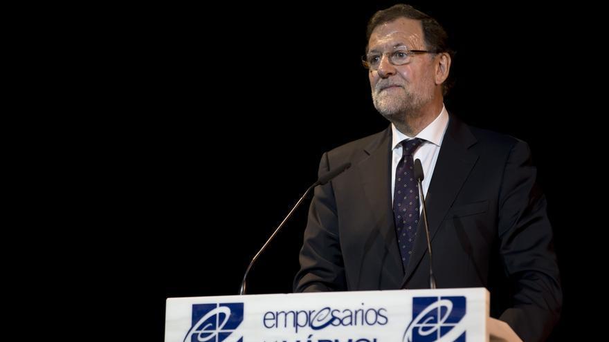 """Rajoy reitera que no habrá ninguna ruptura en España y dice estar """"tranquilo"""" porque sabe cuál es su obligación"""