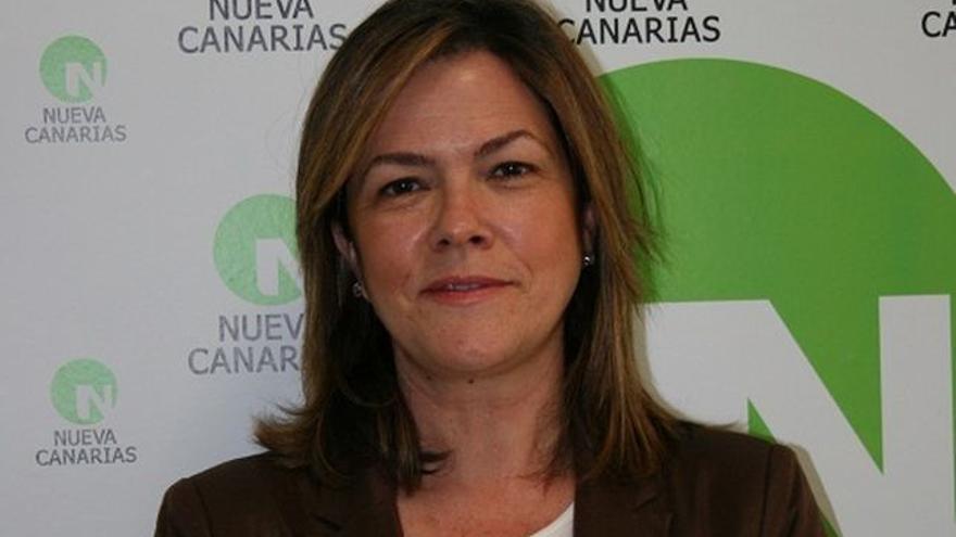 Maeve San Juan es concejal de NC en el Ayuntamiento de la capital.