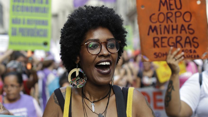 Día Internacional de la Mujer en Brasil // Andre Penner