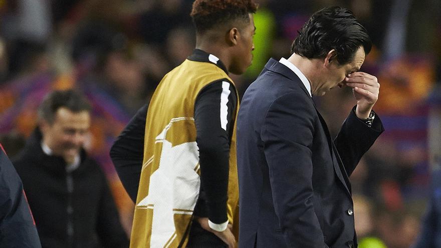 Unai Emery es uno de los grandes señalados tras la debacle de su equipo.