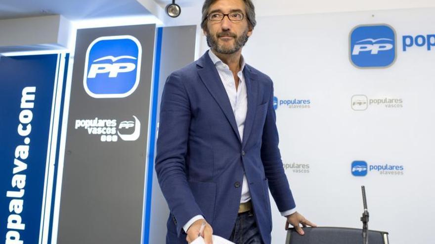 Oyarzábal (PP) afirma que el PNV se equivocaría si asume las reivindicaciones de ETA