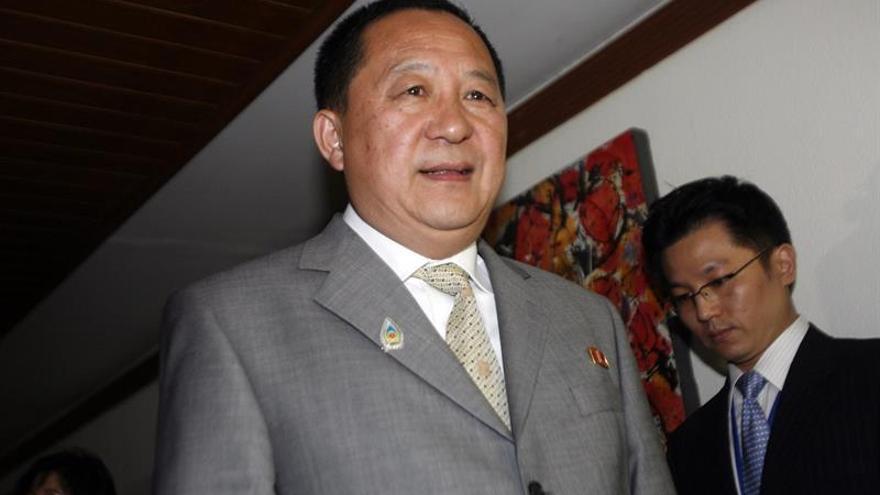 El negociador nuclear de Pionyang nombrado nuevo ministro de Exteriores de Corea del Norte