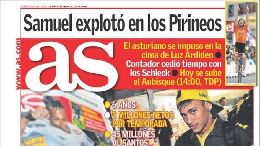 De las portadas del día (15/07/2011) #12