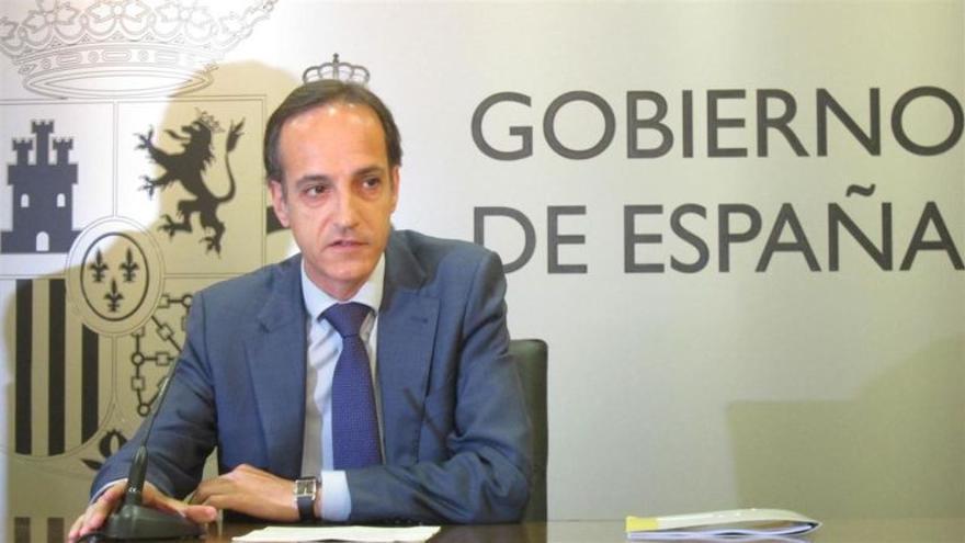 Samuel Ruiz (PP), delegado del Gobierno en Cantabria.