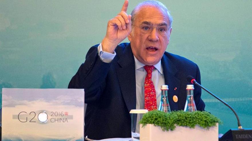 """El secretario de la OCDE subraya que normalizar el resultado del brexit costará """"años"""""""