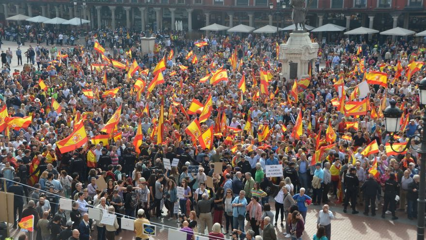 Encuentro entre ambas manifestaciones