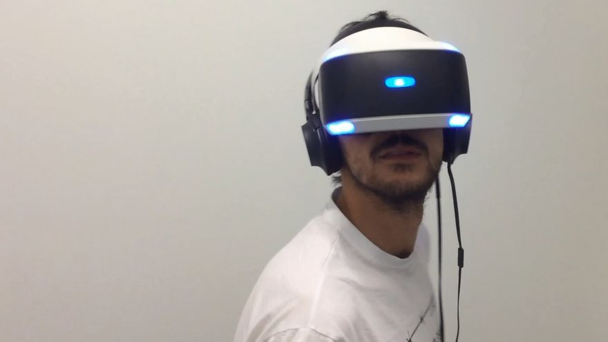 Probando PlayStation VR