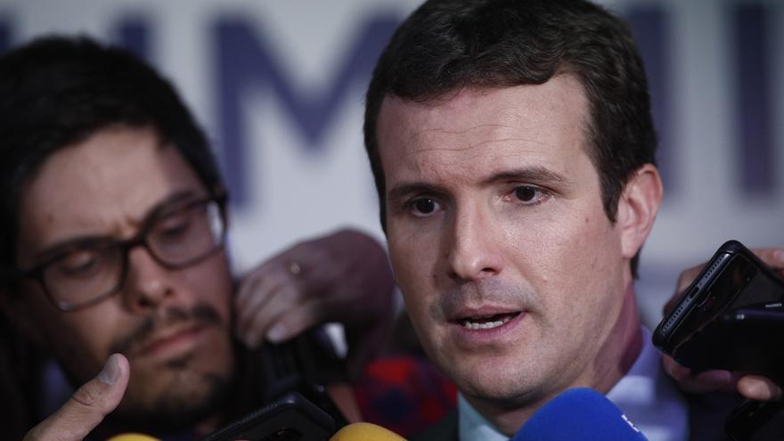"""Pablo Casado, sobre Madrid Central: """"El problema es que a veces crea más contaminación"""""""