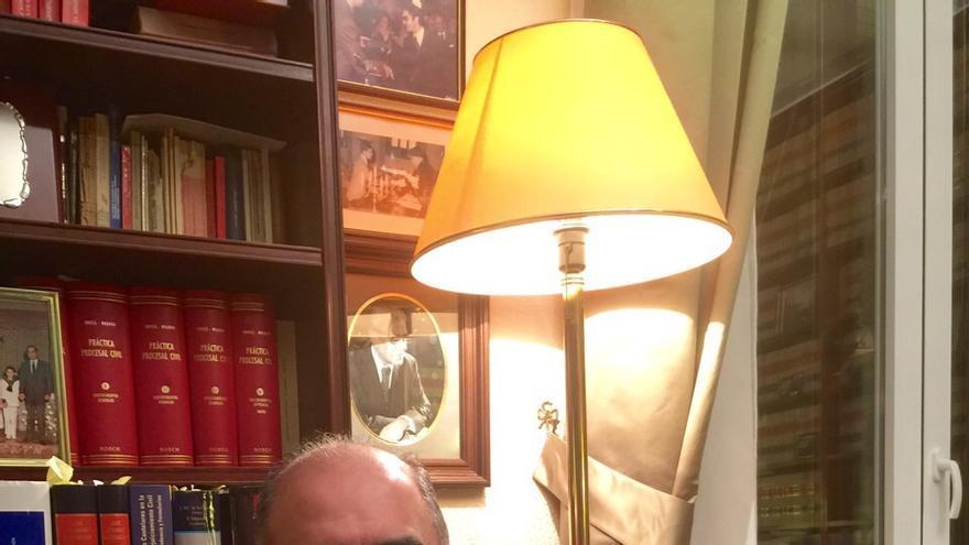 El abogado y expresidente del PP murciano, Juan Ramón Calero / MJA