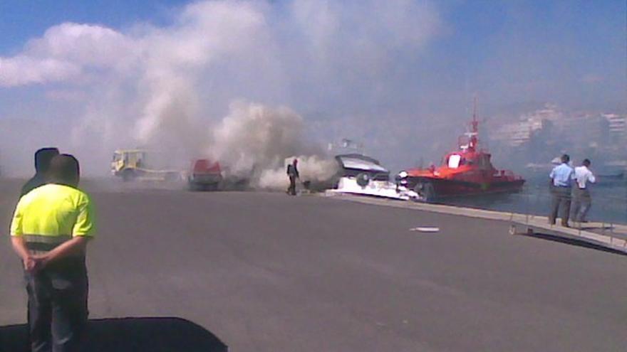 Del incendio de la embarcación #5