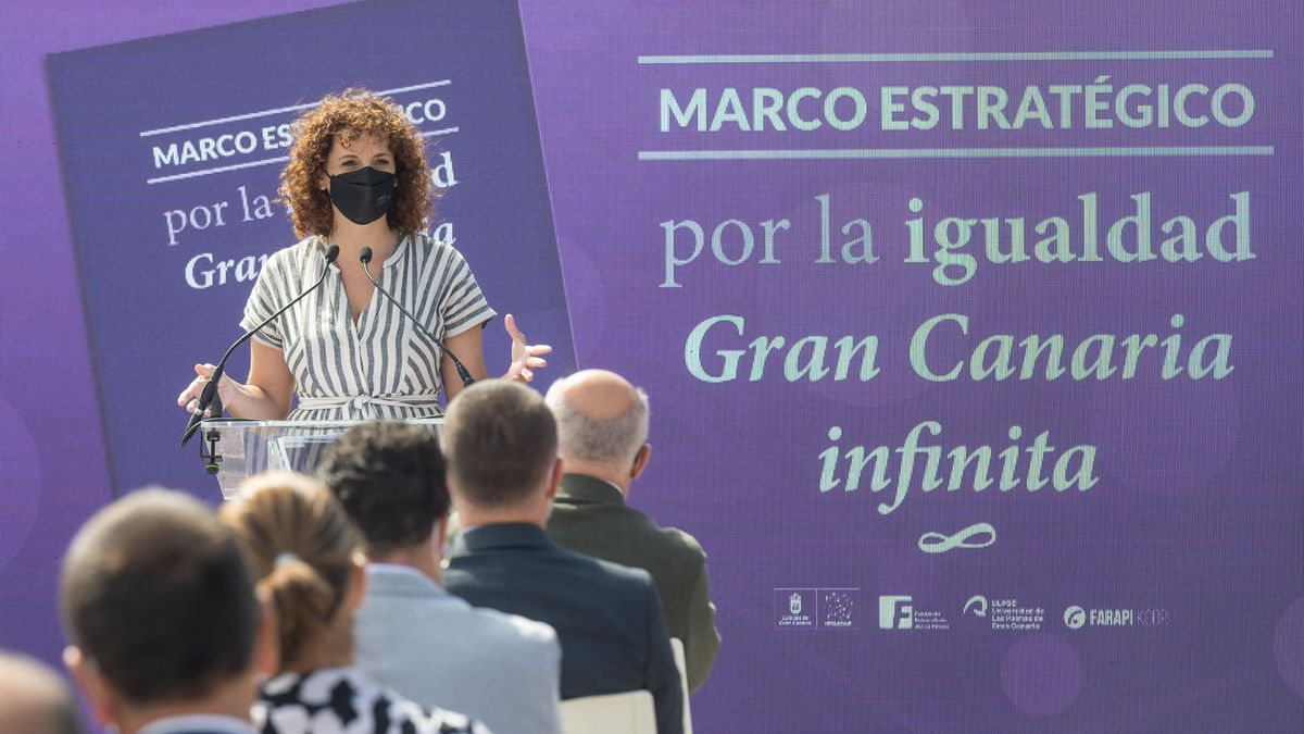 La consejera de Igualdad del Cabildo de Gran Canaria, Sara Ramírez.