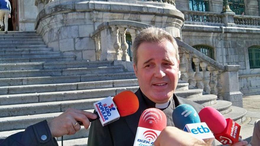 El obispo de Bilbao, Mario Iceta.