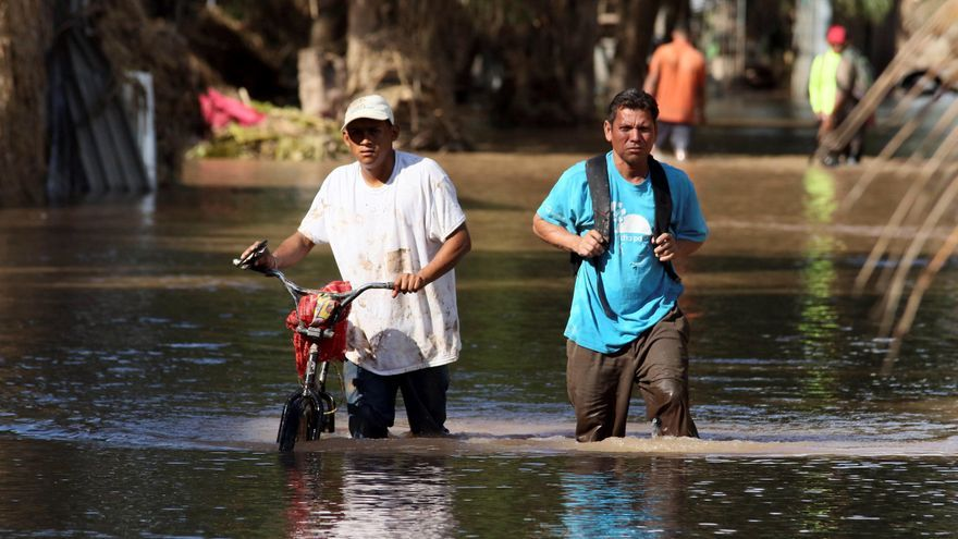 La Lima, Morolica y Choloma, pueblos mártires de los huracanes en Honduras