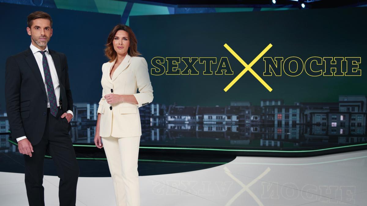 José Yélamo y Verónica Sanz, en 'laSexta Noche'