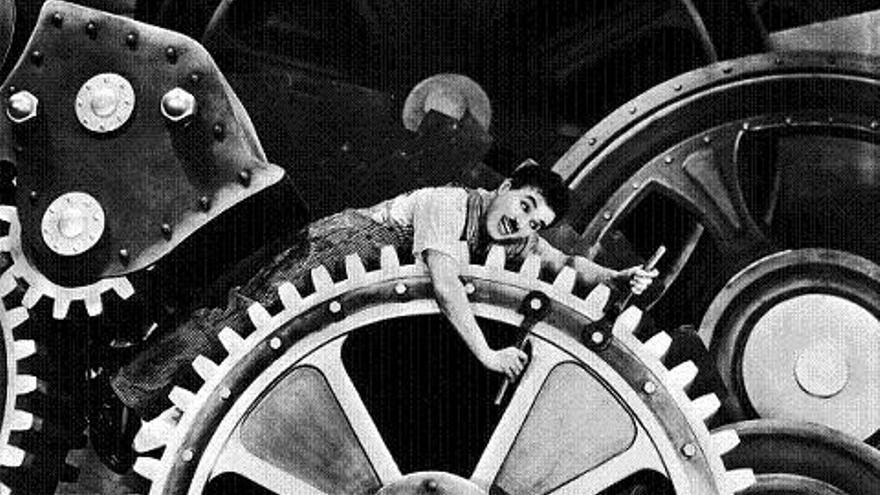 'Tiempos modernos', de Charles Chaplin