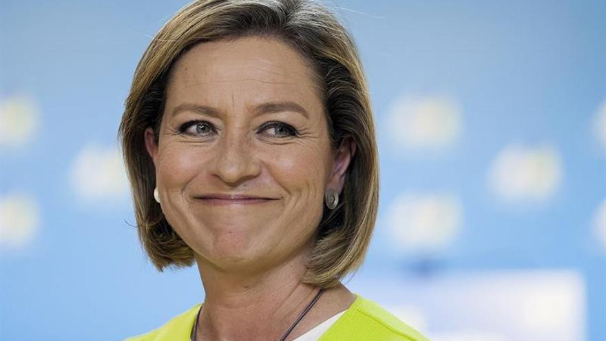 La cabeza de lista de Coalición Canaria al Congreso por Santa Cruz de Tenerife, Ana Oramas. Efe