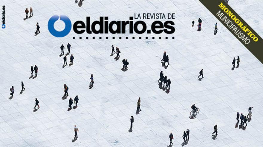 Portada de la revista de eldiario.es sobre municipalismo, Cuadernos #9.