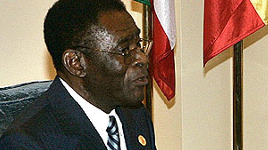 Teodoro Obiang, durante una visita reciente a España.