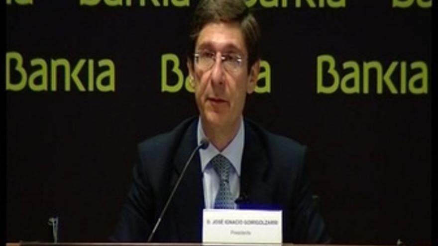 """Goirigolzarri: """"Bankia será una entidad eficiente"""""""