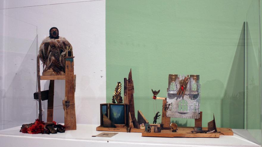 Detalle de la muestra que puede verse en el Palacete del Embarcadero.