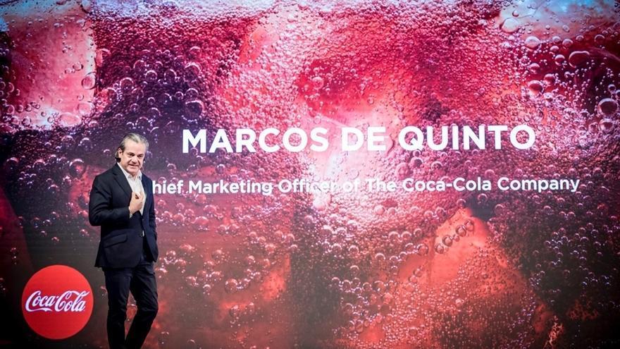 (Ampl.) Marcos de Quinto abandona Coca-Cola después de 35 años de carrera en el fabricante de Atlanta