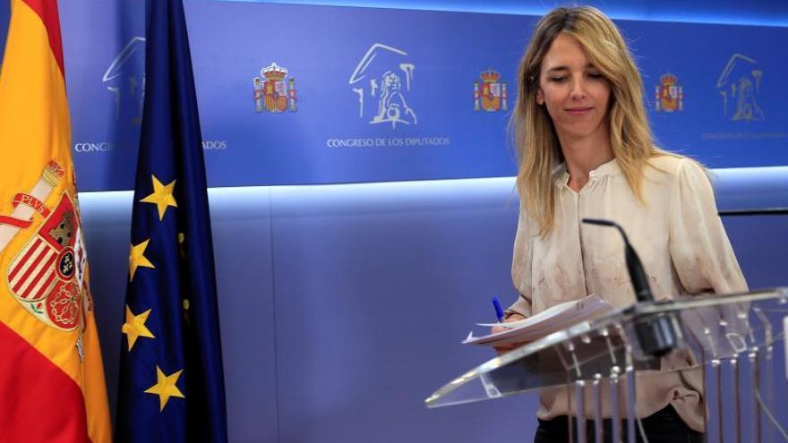 La portavoz del PP en el Congreso, Cayetana Álvarez de Toledo.