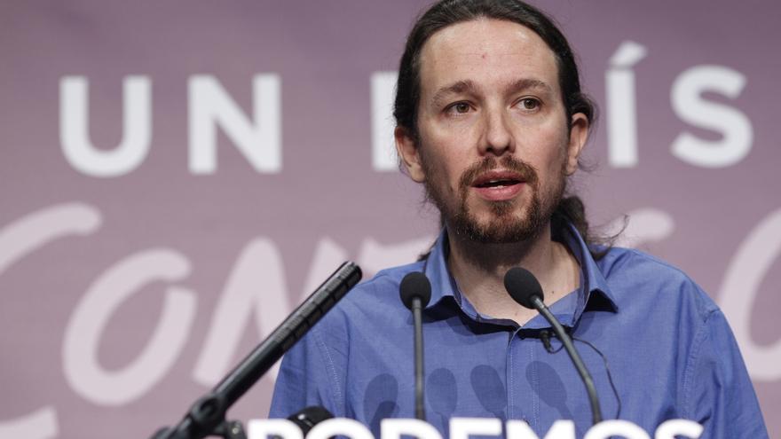 """Iglesias tacha de """"patético"""" el comportamiento de Sánchez por preocuparse más por Podemos que por Rajoy"""