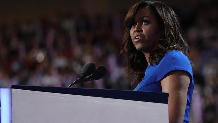 Michelle Obama, exprimera dama de EEUU.