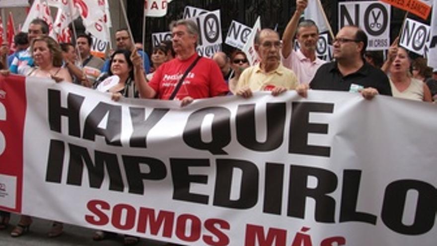 Concentraciones viernes sindicatos