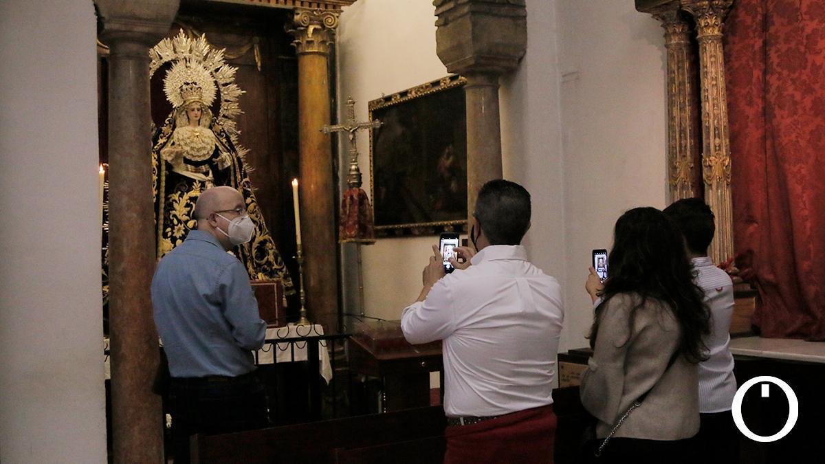 Nuestra Señora de los Dolores y el Rayo.