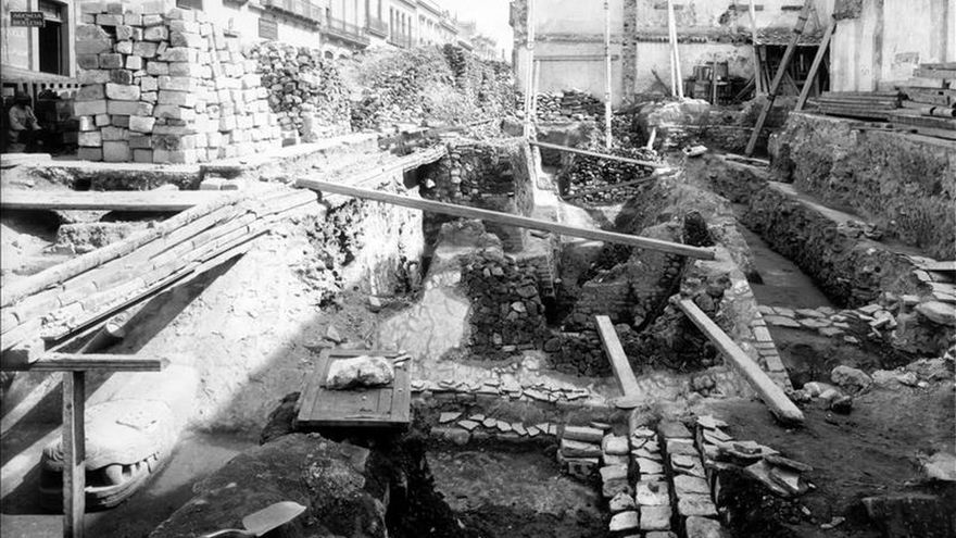 El Templo Mayor de México esconde un acervo arqueológico que dará trabajo a generaciones