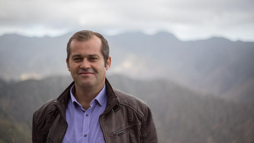 Emiliano Coello, candidato a la Alcaldía de Vallehermoso por ASG