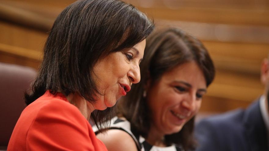 """Margarita Robles asegura que PSOE no dará """"ninguna instrucción"""" al diputado de NC para la votación del techo de gasto"""