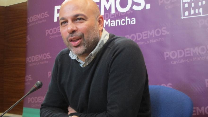 """El líder de Podemos C-LM ve actitudes individuales interesadas en el partido: """"Habrá que hablar de los que sobran"""""""