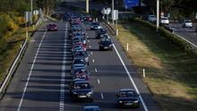 Cinco muertos en las carreteras españolas durante el fin de semana