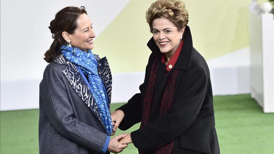 """Dilma Rousseff: """"El acuerdo de París debe contribuir al desarrollo mundial"""""""