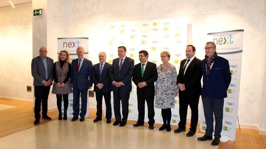 Presentación en Madrid de la Cátedra del Reto Demográfico