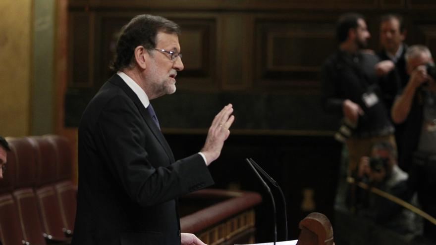 """Rajoy responde irónico sobre si está expectante ante la cita de PSOE, C's y Podemos: """"No lo sabe usted bien"""""""