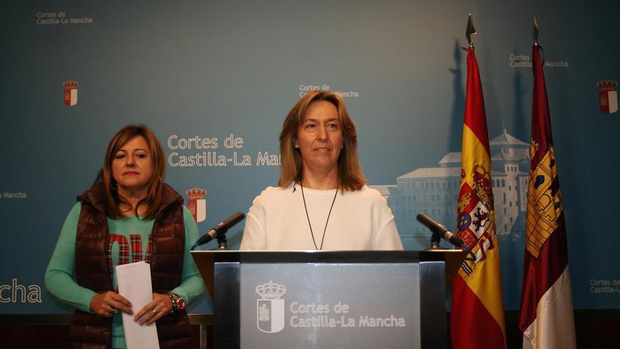 Ana Guarinos y Pilar Martínez FOTO: PP Castilla-La Mancha