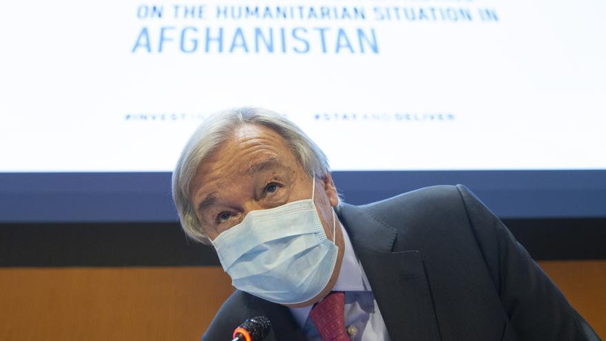 """Guterres: Afganistán vive sus """"horas más peligrosas"""" y necesita ayuda global"""