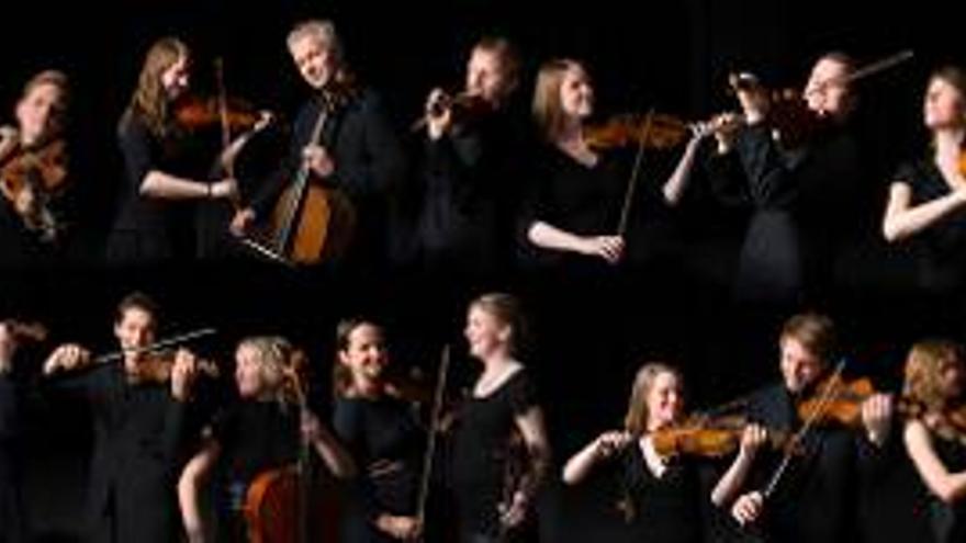 Orquesta noruega de cuerda Trondheim Soloist.
