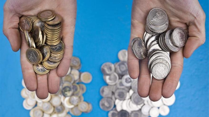 El euro sube hasta los 1,0623 dólares en Fráncfort